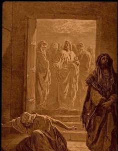 """""""Fariseeren og tolleren"""" av Gustave Doré"""
