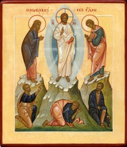 Transfiguration, icon