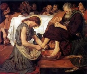 Christ Washing Peter's Feet Ford Madox Brown