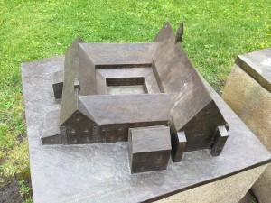 Modell av det gamle klosteret