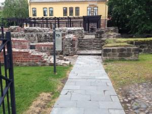 Ved porten til St Olavsklosteret