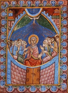Manuskript fra 1200-tallet fra St. Albans Abbey ved London