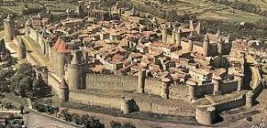 Festningen i Carcassonne