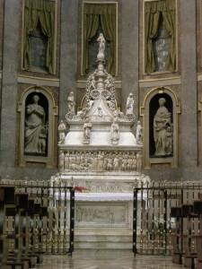 St Dominikus' grav