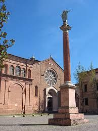 """Den """"nye kirken"""" i Bologna hvor St. Dominikus nå er gravlagt"""