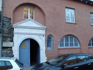 Inngangspartiet til St. Dominikus' hus i Toulouse