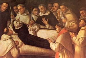 Dominikus' dødsleie