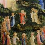 Fra Angelicos helgonens dans