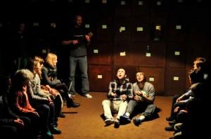 "Frå stykket ""Minnenes museum"" på Riksteatret"