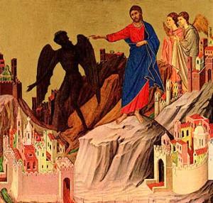 Jesu fristelse (bilde frå Salt + life blog)