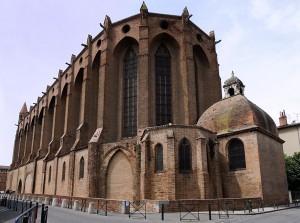 Jakobinerkirken i Toulouse. Foto: Wikipedia