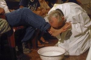 Fotvask - pave Frans